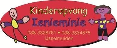 Ienieminie logo voor op een brief